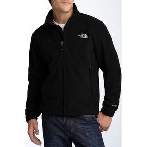 The North Face Men's Black Windwall 1 Zip Jacket